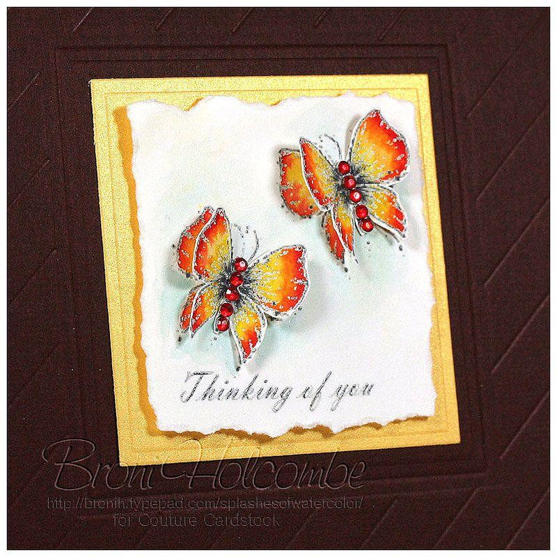 Thinking of You Butterflies CHA (closeup)
