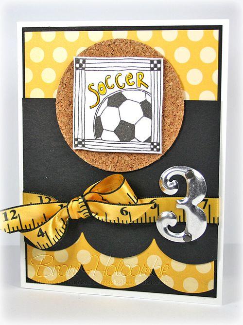 Miles Soccer card