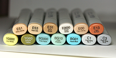 Latte Love copics