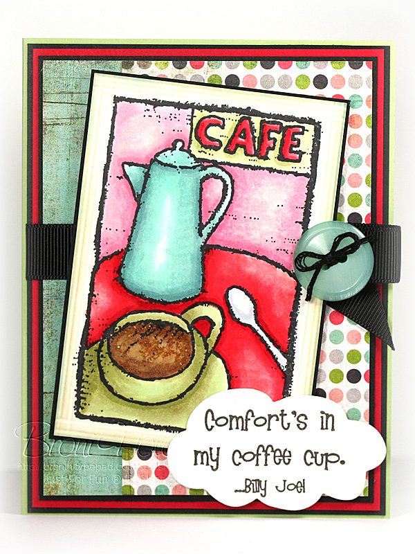 Comfort's in my Coffee Cup