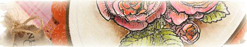 Pink Orange Roses crop