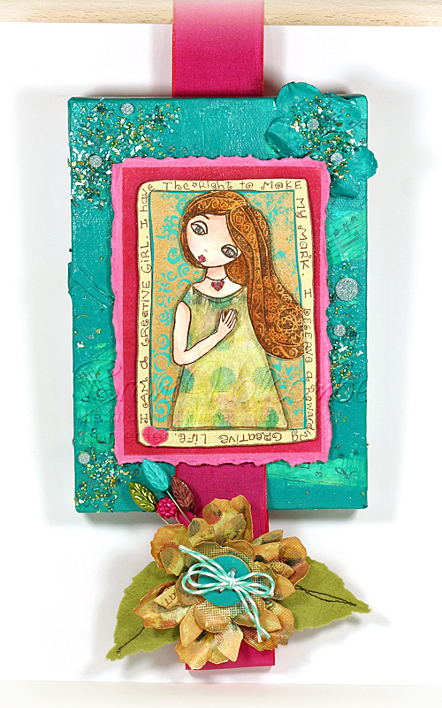 Creative Girl Canvas