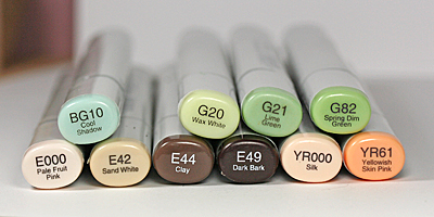Dream to Move Mountains copics