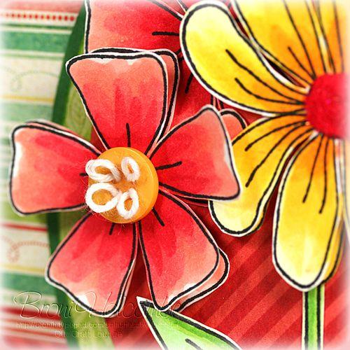 Bright Summer Bouquet (closeup)