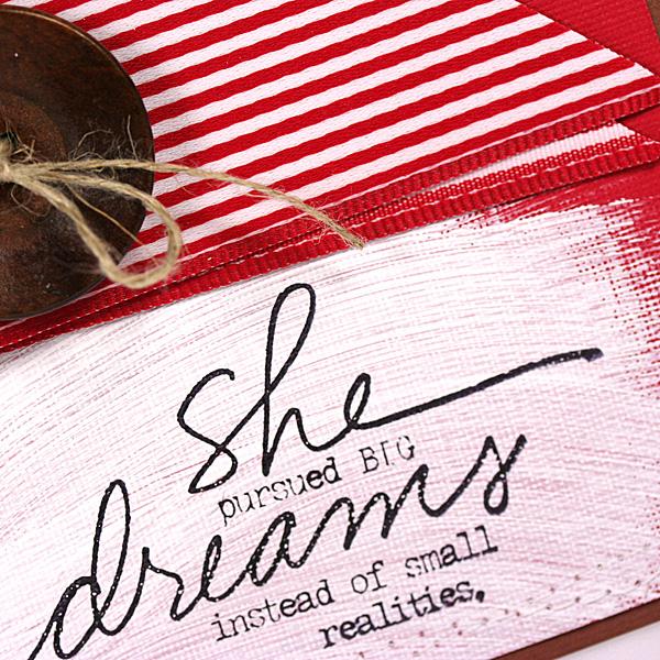 She Pursued Big Dreams card (closeup2)