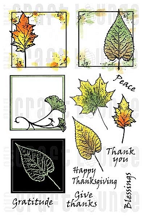 Shades of Fall stamp panel