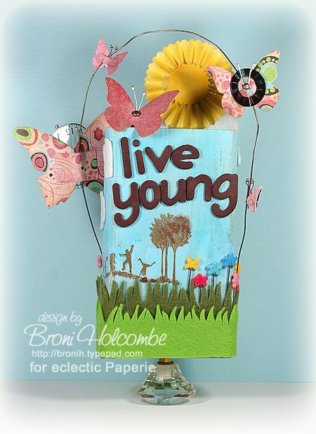 Live Young - side 3