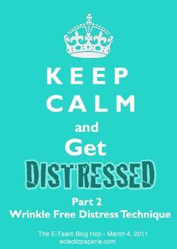 Wrinkle Free Distress Blog Hop