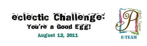 Egg Carton art banner