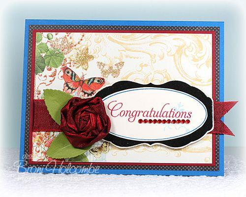 Sparkly Congratulations