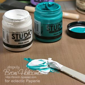 1-BWC6 mixing paint