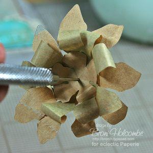 Imagine ART paper-film flowers front
