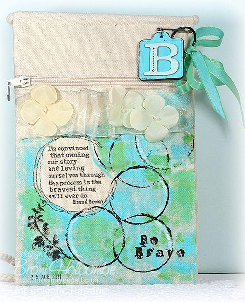 13-BWC6 finished canvas bag