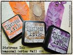Distress seasonal inks