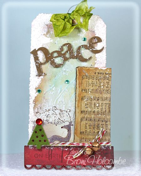 Peace on Earth tag