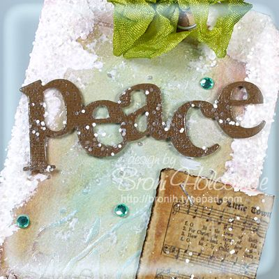 Peace - bokeh effect