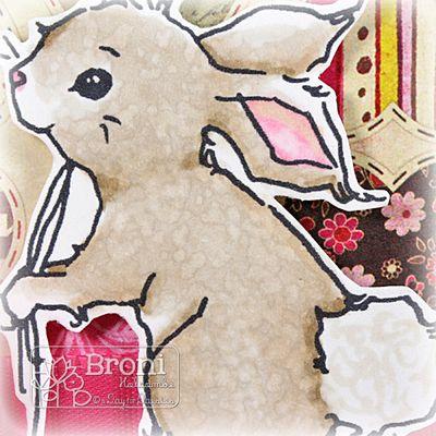 Happy Love Day Bunny closeup