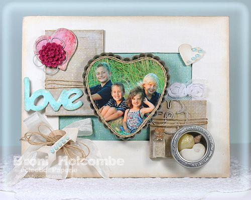Grandkids Love Framed