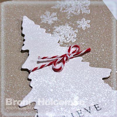 Closeup Kraft Christmas card 2011