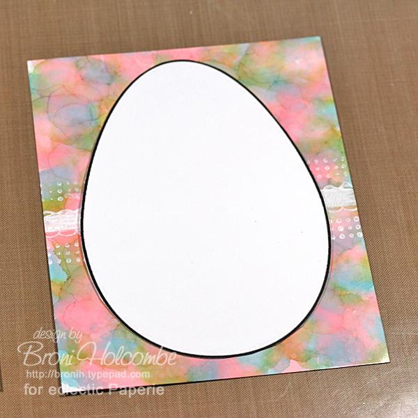 Marbled Easter Egg 4