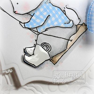 Swinging Bunny galoshes