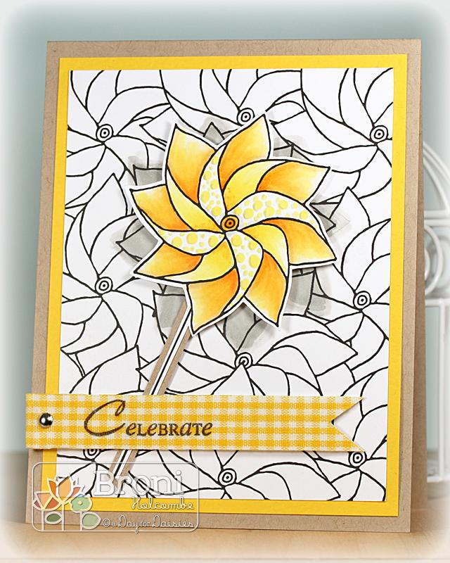 05-25-12 Yellow Pinwheel