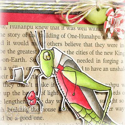 07-20-12 Vintage Grasshopper closeup