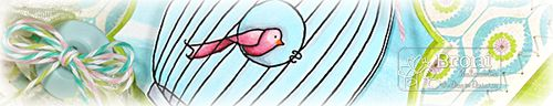 Oval Bird Cage card crop
