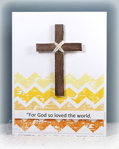 For God so loved the world Easter card