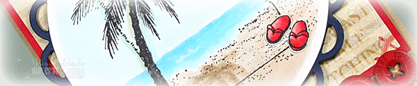 Beach scene crop