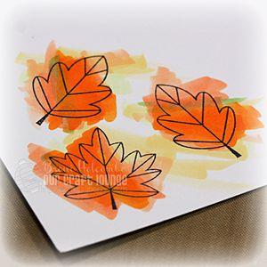 CTD216 Fall Leaves coloring