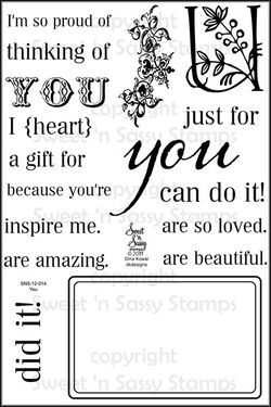 You Clear Stamp Set - Sweet n Sassy