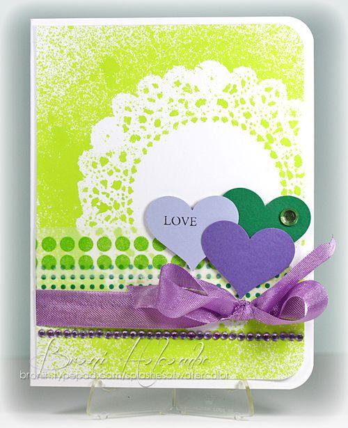 CTD226 Lime & Lavender Love