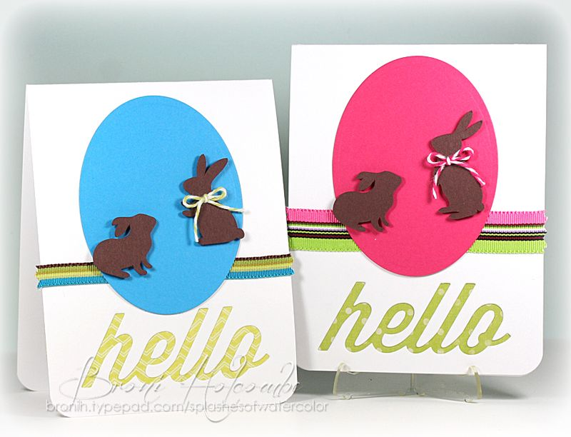2013 Easter cards
