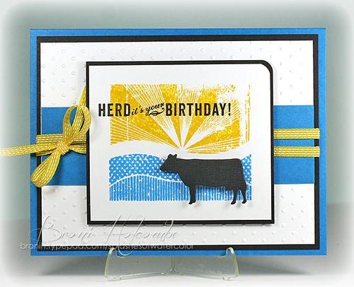 CTD238 Herd It's Your Birthday