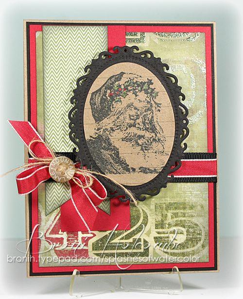 CTD221 Santa in Black