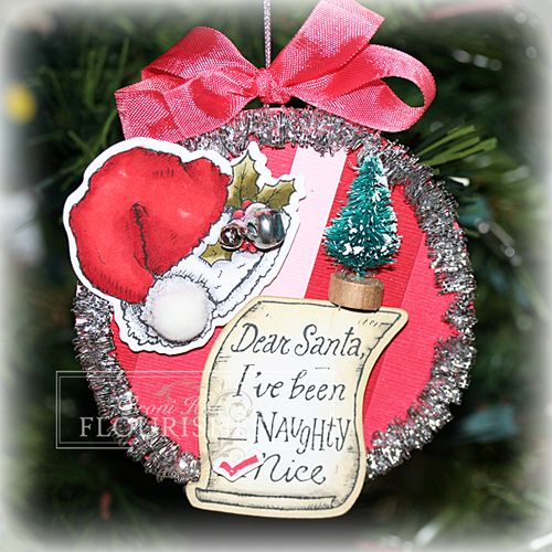 FTTC200 Dear Santa ornament