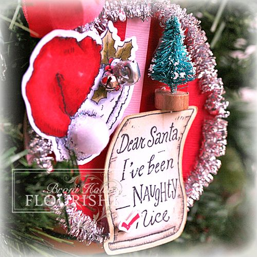 FTTC200 Dear Santa ornament closeup
