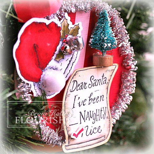 FTTC200 Dear Santa ornament closeup