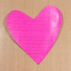 Tape covered heart