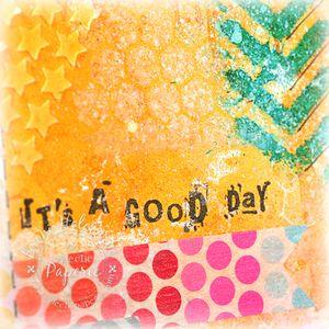 CTD244 It's a Good Day closeup 3