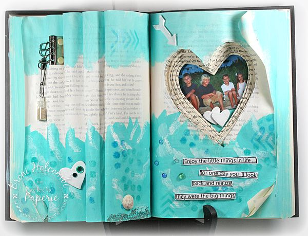 Altered Book - Enjoy the Little Things