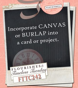 FTTC242 Canvas or Burlap