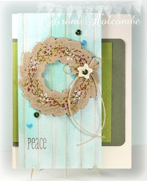 CTD267 Holiday Wreath