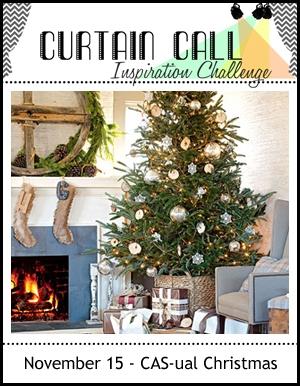 Curtain Call - casual christmas