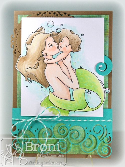 05-02-14 ADFD Mother Mermaid Kiss