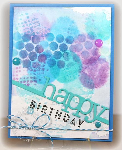 CTD284 eP 03-17-14 Watercolor Happy Birthday
