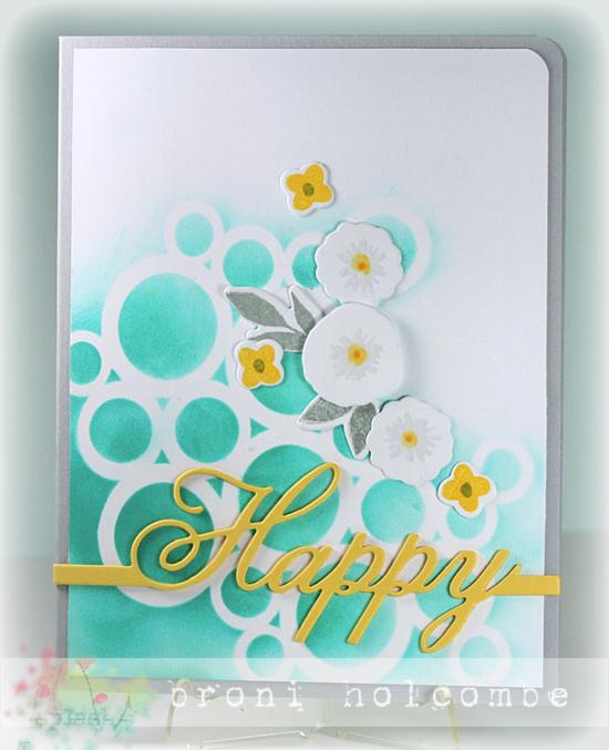 CTD297 Happy Florals