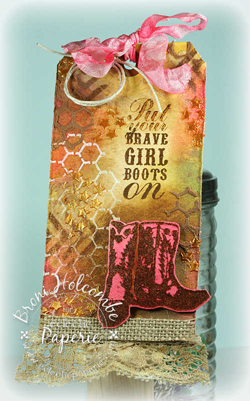 Brave Girl Boots Tag