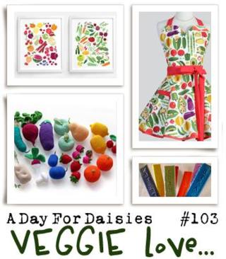 ADFD challenge #103 Veggie Love